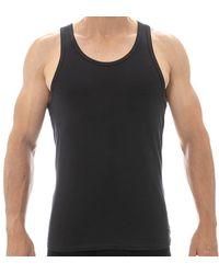 Calvin Klein 2-pack Modern Cotton Stretch Tank Tops - Black
