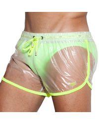 ES COLLECTION Transparent Ultralight Short S - Green