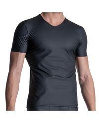 MANSTORE T-Shirt Col V M2111 - Noir