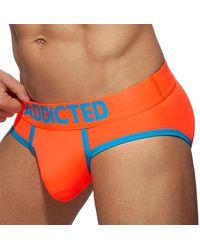 Addicted Slip Swimderwear Cockring - Orange