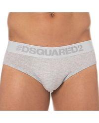 DSquared² Slip Cotton Stretch - Gris