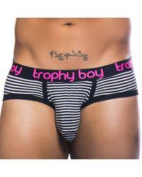 Andrew Christian Slip Trophy Boy Noir