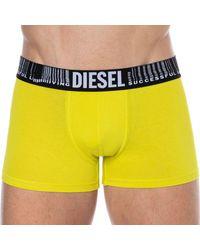 DIESEL Boxer Coton Successful Living - Jaune
