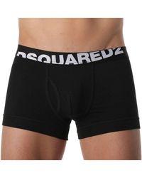 DSquared² Boxer Logo - Noir
