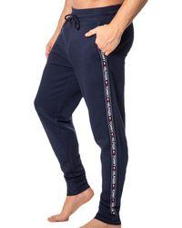 Tommy Hilfiger Pantalon Jogging Authentic Marine M - Bleu