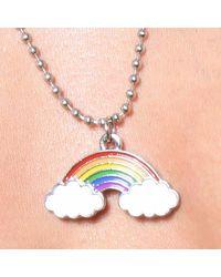 Andrew Christian Collier Pride Rainbow - Multicolore