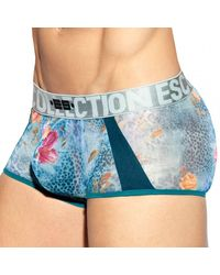 ES COLLECTION Flowery Panther Trunk - Metallic