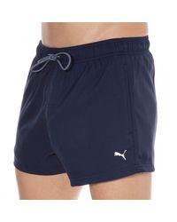 PUMA Classic Swim Shorts - Blue