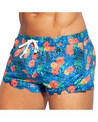 ES COLLECTION Swim Shorts - Blue