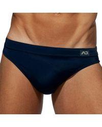 Addicted Dick Up Swim Briefs - Blue