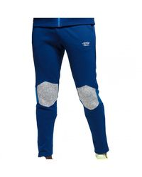 ES COLLECTION Pantalon Sport Combi Rustic Marine - Bleu