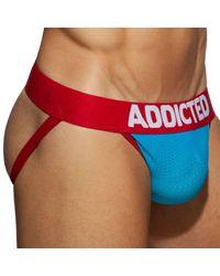 Addicted Jock Strap Dick Up - Bleu