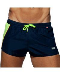 Addicted - Racing Side Swim Shorts - Lyst