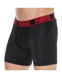 PUMA 2-pack Active Boxers - Black