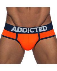 Addicted Swimderwear Push Up Briefs - Orange