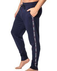Tommy Hilfiger Pantalon Jogging Authentic Marine - Bleu