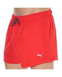 PUMA Classic Swim Shorts - Red
