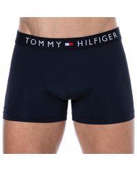 Tommy Hilfiger Boxer Icon Microfibre - Bleu