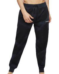 DIESEL Pantalon Camouflage Marine - Bleu