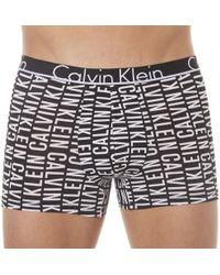 Calvin Klein Boxer ID Cotton - Noir
