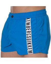 Bikkembergs Tape Swim Short - Blue