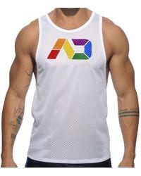 Addicted Débardeur AD Rainbow - Blanc