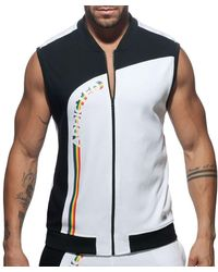 Addicted Veste Rainbow - Blanc