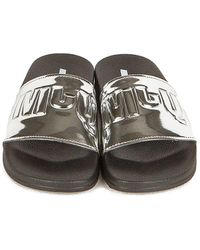 McQ Infinity Slides - Metallic