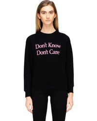 Ashley Williams 'don't Know' Pullover - Black