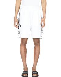 Kappa Authentic Biplus Bermuda Shorts - White