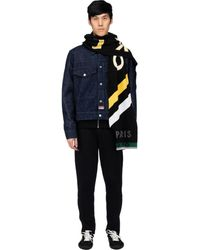 KENZO Jumping Tiger Sport Scarf - Black
