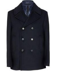 Mackage Noah Wool Peacoat - Blue