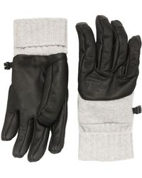 The North Face Crynos Leather Gloves - Gray