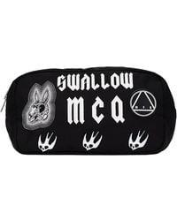 McQ Swallow Sponsorship Wash Bag - Black
