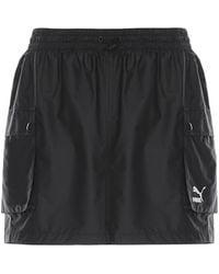 PUMA Classic Cargo Skirt - Black