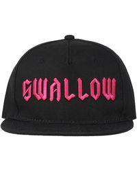McQ Gothic Swallow Cap - Black