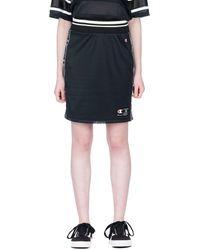 Champion Reversible Mesh High Waist Skirt - Black