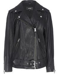 Mackage Chloe Leather Jacket - Black