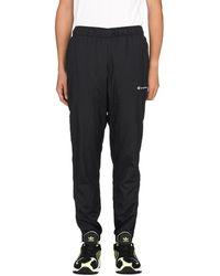 Champion Nylon Warm Up Pants - Black