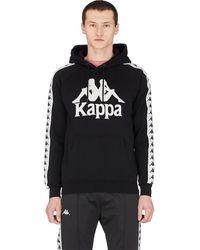 Kappa - Graphic Cotton-blend Hoodie - Lyst