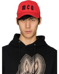 McQ Logo Baseball Cap - Black