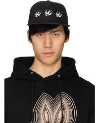 McQ Swallow Baseball Cap - Black