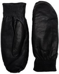 Canada Goose Black Label Leather Rib Mitts