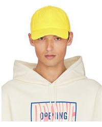 Opening Ceremony Quilted Baseball Cap - Yellow