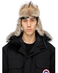 Canada Goose Aviator Hat - Black