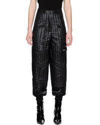 MISBHV Quilted Puffer Pants - Black