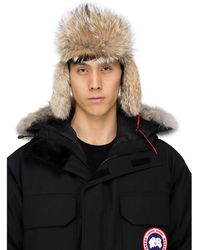 Canada Goose Aviator Hat - Red