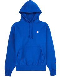 Champion Reverse Weave Pullover Hoodie - Blue