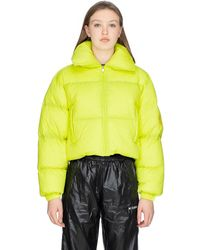 MISBHV Double Embro Down Jacket - Yellow