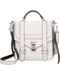 Proenza Schouler - Ps1+ Zip Leather Backpack - Lyst